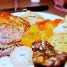 Newfoundland Jigg's Dinner Recipe - Had this while visiting a friend in Canada. Rock Recipes, Jigs Dinner, Canadian Food, Canadian Recipes, Canadian Cuisine, Boiled Dinner, Newfoundland Recipes, Corn Beef And Cabbage, Date Dinner