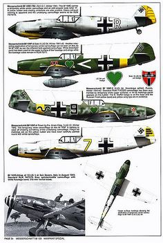 Bf 109 F, F1, F2, F4 and F4 Trop variants (14)   GLORY. The largest archive of german WWII images   Flickr