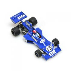 TYRRELL FORD 007 J.P. JABOUILLE F1 1975 SCALE 1/43 MINICHAMPS