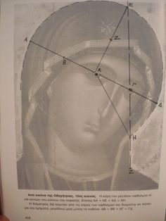 Szűzanya, painting based on Sacred Geometry Principles.