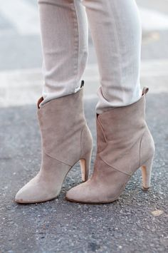 Feeling Blue ( Suede Booties & Ankle boots )