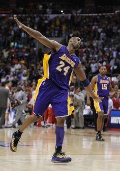 Kobe ..he's back..not quite the same :/