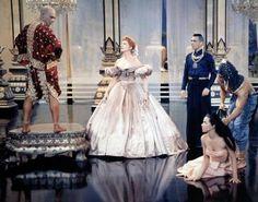 Deborah Kerr Images et photos Theatre Costumes, Movie Costumes, We Movie, Film Movie, Yul Brynner, Deborah Kerr, Iconic Dresses, Anna, The Best Films