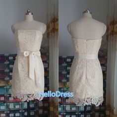 Hey, I found this really awesome Etsy listing at https://www.etsy.com/listing/197832439/short-strapless-sweetheart-champagne