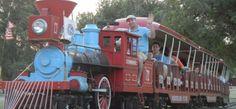 The Kiwanitrain runs through Enid's Meadowlake Park nightly during the summer!