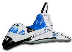 Jr. Space Explorer Child Inflatable Space Shuttle, 802388