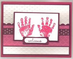 Welcome Baby by lindahur - Cards and Paper Crafts at Splitcoaststampers