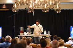 We love when Fabio Viviani visits us (especially when he hosts cooking classes for guests to enjoy)! Fresh Pasta, Cooking Food, Cooking Classes, Foodies, Ceiling Lights, Wine, Dining, Eat, Dinner