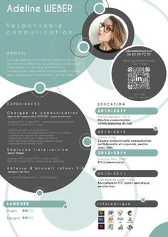 Your resume is one of your best marketing tools. The goal of your resume is to tell your individual story in a compelling way that drives prospective employers to want to meet you. Graphic Design Resume, Cv Design, Resume Design Template, Cv Template, Design Logos, Portfolio Resume, Portfolio Design, Cv Original Design, Cv Inspiration