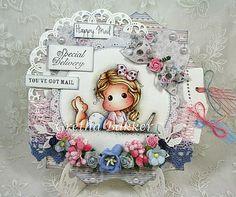 shaped card by Gretha Bakker