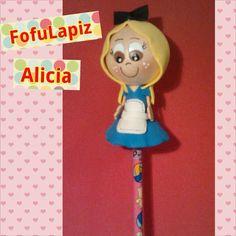 Fufulapiz personaje Alicia.  #fofulapices #fofuchas