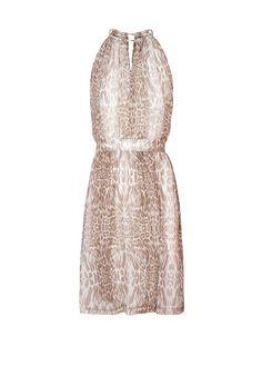 MANGO - Kleid mit Animal-Print