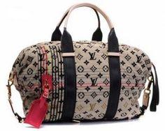 Louis Vuitton M40360 Monogram Denim Cheche Tuareg Bag