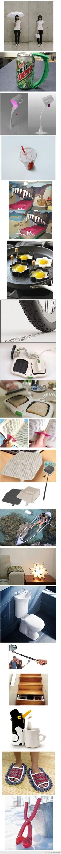 Interesting Inventions - i don't know why, but i want ALL of these things....