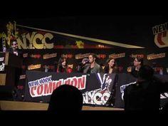 Beauty and the Beast Panel NY Comic Con 2013 video #BatB #NYCC2013 #NYCC