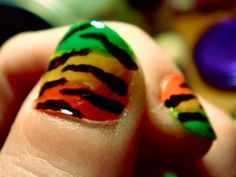 rasta nails; this is my next goal.