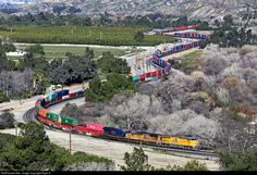 RailPictures.Net Photo: UP 2748 Union Pacific GE C45AH at San Timoteo Canyon, California by Ryan S.