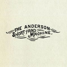 :: the Anderson ::
