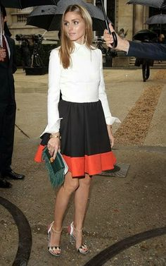 Olivia Palermo at Valentino Fall 2014 Couture show