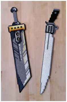 Final Fantasy Buster Sword and Gunblade