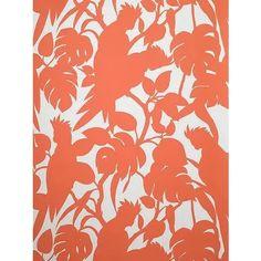 Surface Pattern Design, Pattern Art, Abstract Pattern, Teal Wallpaper, Tropical Wallpaper, Florence Broadhurst, Modern Pop Art, Textiles Techniques, Cockatoo