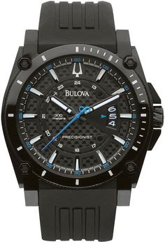 Bulova Precisionist Black Carbon Fiber Watch Fine Watches 275675c9d7