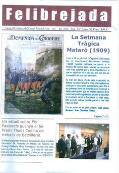 Felibrejada: butlletí del Grup d'Història del Casal. Història.