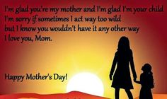"""This post contains some of the best collection of """"Happy Mothers Day Poem From Son For His Mother"""". Wish you all poems, images for Mother Day celebrations."""