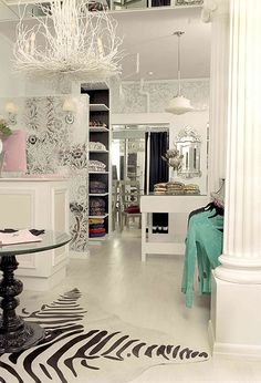 just another gorgeous closet.