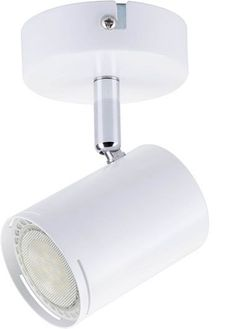 baril led surface mount single spotlight with tilt and rotate function ceiling mounted spot light