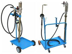 heavy duty oil dispensing flatform equiped with digital controled oil gun