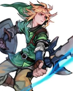 "legend-of-breakfast: "" Link リンク by Racoona """