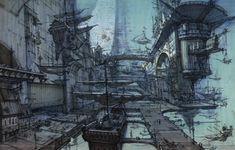 - Visual Development from Treasure Planet; One of my favorite Disney's