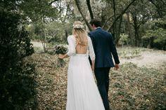 Wpid rustic woodland wedding spain - a bohemian, backless gown for a woodland wedding in. Rustic Wedding Shower Cake, Rustic Wedding Suit, Rustic Wedding Backdrops, Rustic Wedding Dresses, Wedding Suits, Chic Wedding, Wedding Blog, Wedding Ideas, Boho Chic