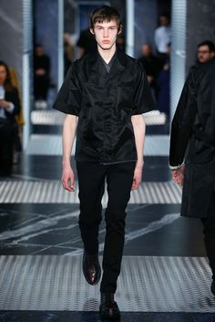 Fall 2015 Menswear Prada http://www.style.com/slideshows/fashion-shows/fall-2015-menswear/prada/collection/2