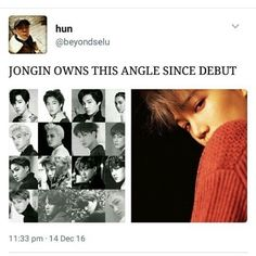 That's his angle