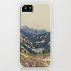 Mountain Flowers iPhone & iPod Case by Kurt Rahn - $35.00