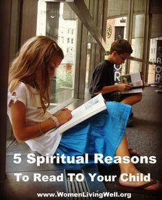 5 spiritual reasons to read to your child