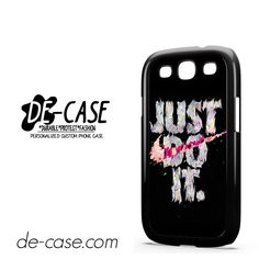 Nike Just Do It Art DEAL-7856 Samsung Phonecase Cover For Samsung Galaxy S3 / S3 Mini