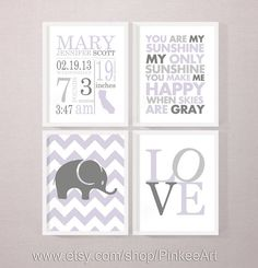 gift for new parents, birth art print, love, sunshine print, birth stats wall art, birth subway art, levander baby stats, new baby print