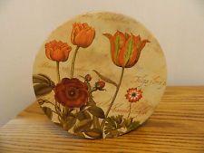 Pamala Gladding Flower Hat Box PM Design Group Inc Once upon a rose Vintage Hat Boxes, Vintage Luggage, Flower Hats, Decorative Plates, Group, Tableware, Flowers, Design, Home Decor