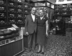 Frederick Freed and his wife Dora who founded Freed of London, Ltd, in 1920.