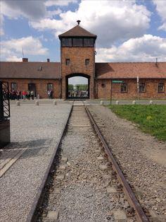 Birkenau 2016 Railroad Tracks, Sidewalk, Warsaw, Poland, Walkway, Walkways