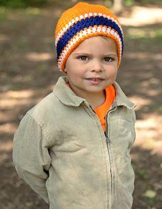 Crochet Denver Broncos beanie  Hat Beanie Made to by HandMadeByDz