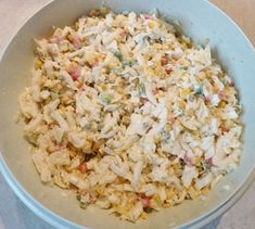 Overnight Salad by Healthy Eating Tips, Healthy Nutrition, Clean Eating, Easy Macaroni Salad, Fiber Foods, Vegetable Drinks, Relleno, Healthy Dinner Recipes, Salad Recipes