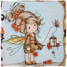 Mayas Hobbyblogg: Wee stamps - Sweet Sparkle ♥