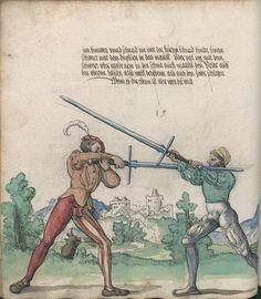 Title: Goliath (MS Germ.Quart.2020), Page: Folio 31v, Date: 1510-1520