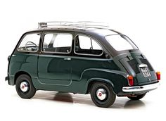 Fiat 600 Multipla Taxi, Fiat made a Taxi version of the forward control Multipla until It had seating for 5 passengers plus the driver yet was only 11 feet long Fiat 600, Taxi, Vintage Cars, Antique Cars, Automobile, Microcar, Fiat Cars, Fiat Abarth, Cute Cars