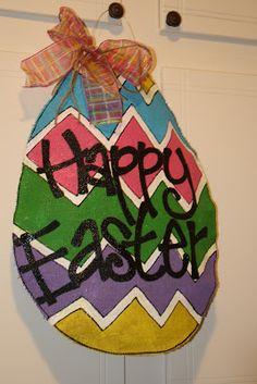 Adoorables Door Hangers: Hoppy Easter!
