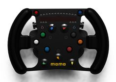 High-End GP2 Steering Wheel - Renders | VirtualR - Sim Racing News